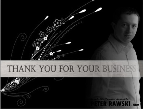 Thank you for your busines!_Peter Rawski