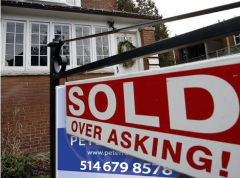 Canadian house prices edge up