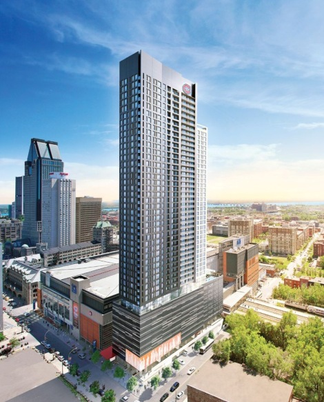 The Tour des Canadiens might be getting a lot of press and even more interest from prospective buyers, but rumours of the condo project selling out are false, an executive from developer Canderel Group tells me.