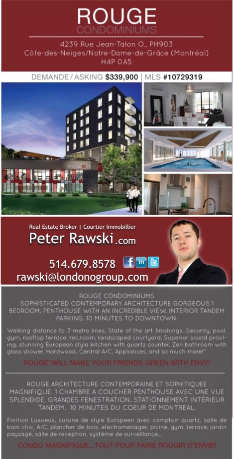 MTL Montreal Real Estate Coach Peter Raski Broker Courtier Immobilier - Canada Quebec RE Investments