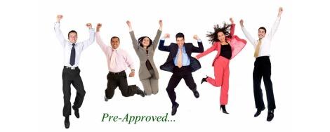 customer-service- Pre-aproved