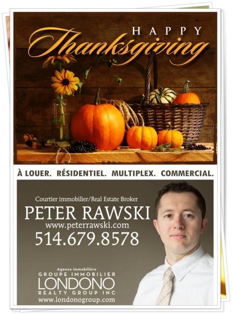 Peter Rawski Thanksgiving
